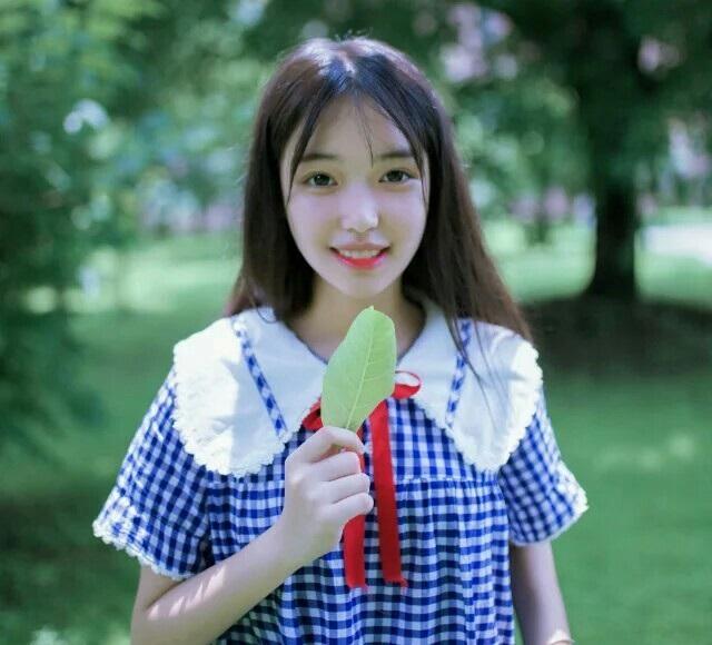 16岁川妹子艺考生晒照迷倒网友 00后女神已上线