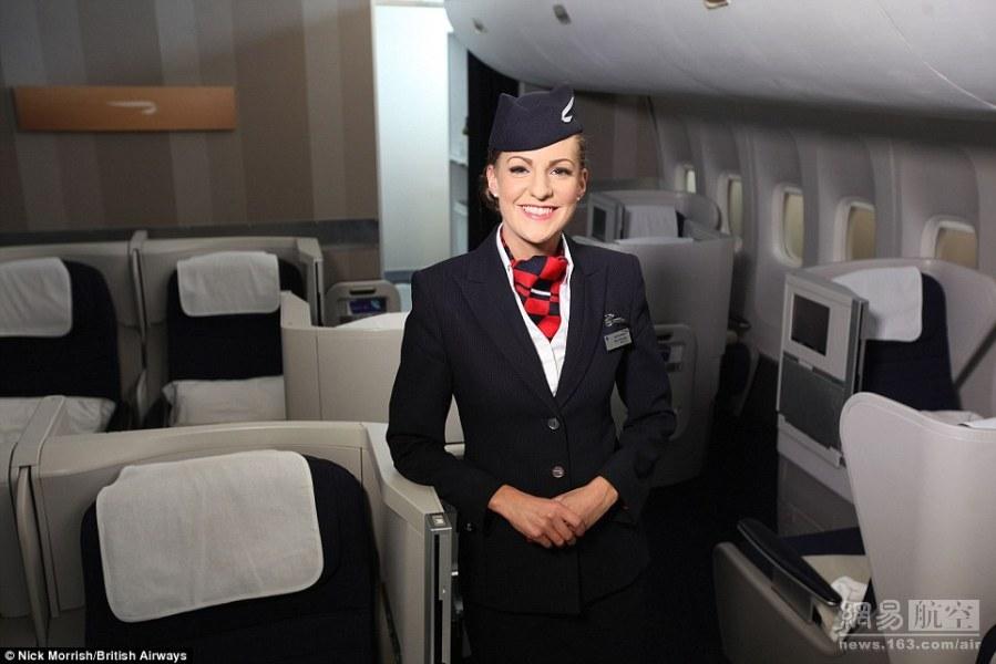 维珍空姐不再化妆_1999年维珍航空空姐制服.