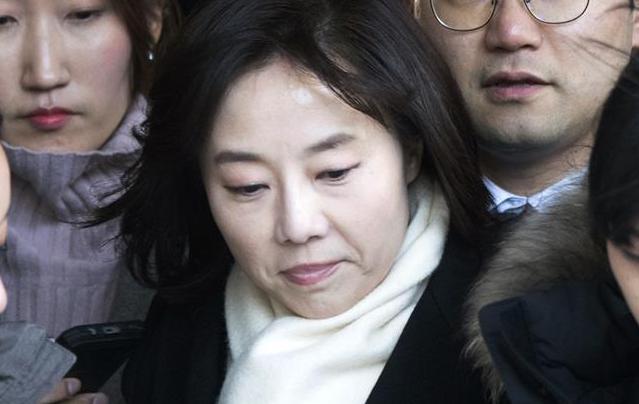 韩国文体部长被捕