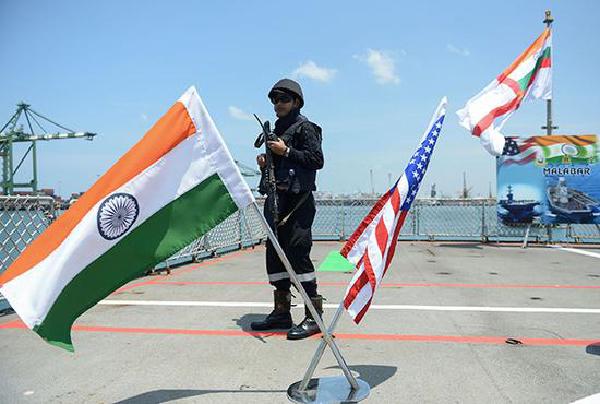"""专家点评:印度或将推迟""""马拉巴尔""""联合军演"""