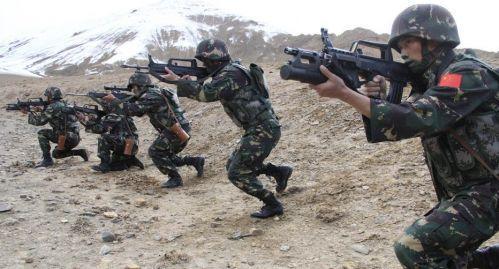 中哈特种部队新疆反恐清剿联演 下月出国演习